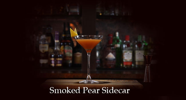 Smoked Pear Sidecar
